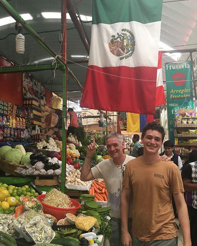 Aura Cocina Mexicana | Market Tour | Mercado de Medellin | Market Stand