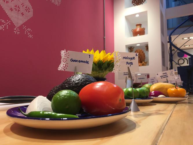 Aura Cocina Mexicana | Cooking Class | Mexico City | Mastering Mexican Salsas Cooking Class | Mexican Salsas Ingredients