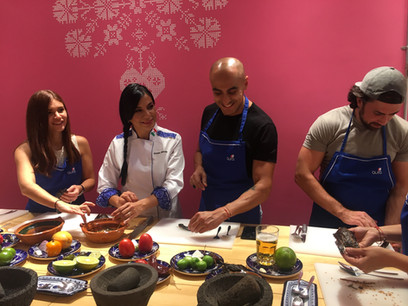 Aura Cocina Mexicana | Cooking Class | Mexico City | Mastering Mexican Salsas Cooking Class | Working with Chiles
