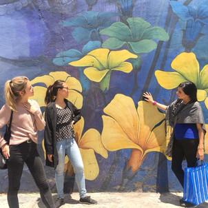 Aura Cocina Mexicana | Market Tour | Mercado de Jamaica | Murals