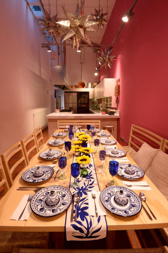 Aura Cocina Mexicana | Cooking Classes | Mexico City | Mexican Breakfast hands-on Cooking Class | Kitchen and Dinning Room