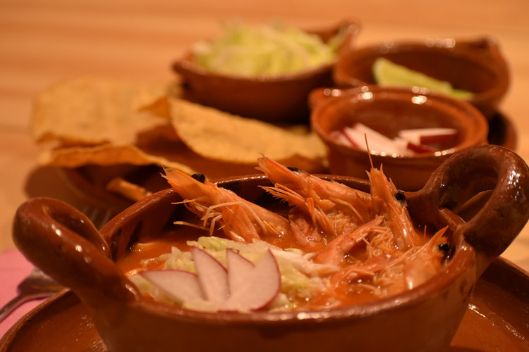 Aura Cocina Mexicana | Cooking Classes | Mexico City | Mexican Seafood hands-on Cooking Class | Shrimp Pozole