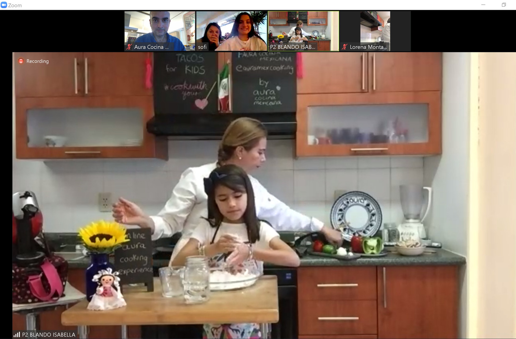 Online Mexican Cooking Class