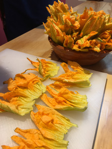Aura Cocina Mexicana | Cooking Class | Zucchini Sunflower