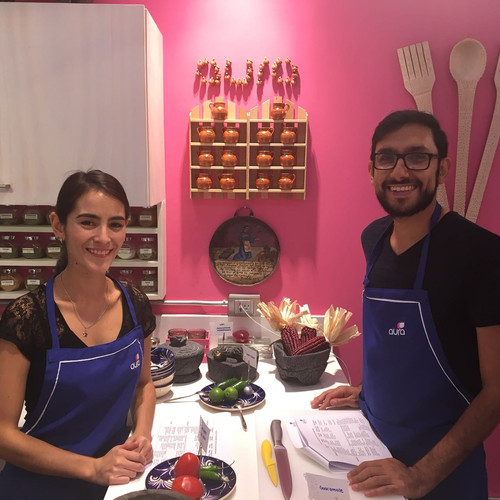 Aura Cocina Mexicana | Cooking Classes | Mexico City | Mexican Breakfast hands-on Cooking Class | Cooking