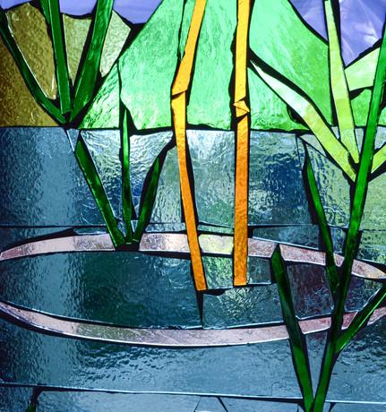 Detail, legs in water