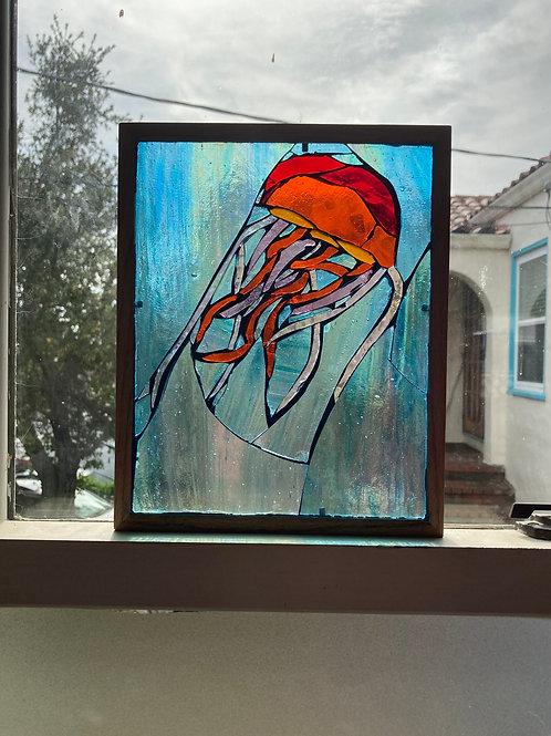 Jellyfish Glass Mosaic