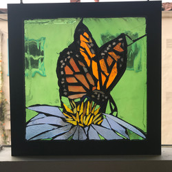 Stained Glass Monarch