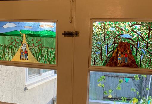 Both panels, Camino