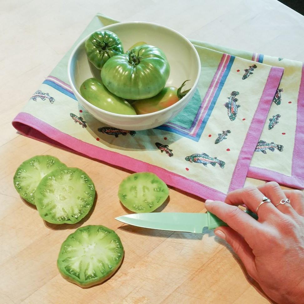 Green Tomatoes, Gardening, wellness, joy, grace
