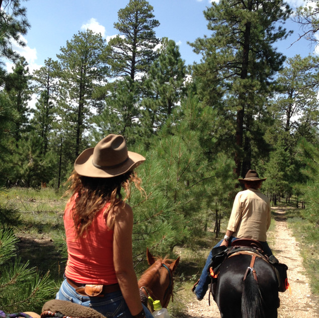Trail ride fun