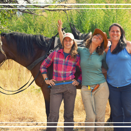 Women in the Wilderness: a retreat for the Soul. (and it was!)