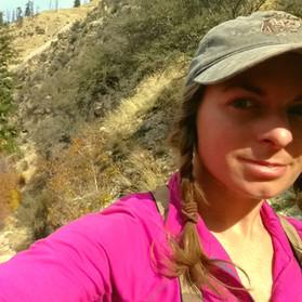 Riding along the Big Creek Trail