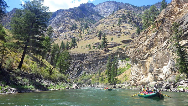 Middle Fork of the Salmon River Float