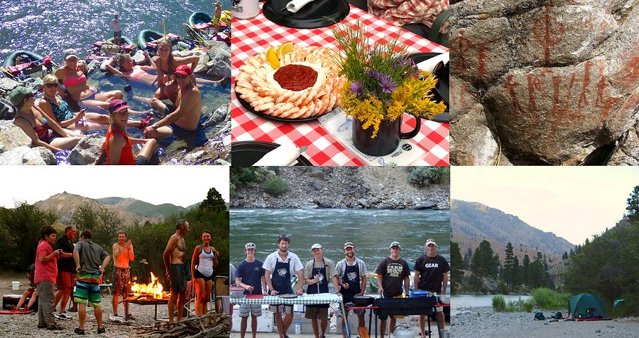 River Trip camp