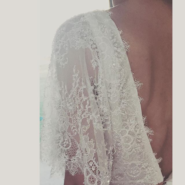 Our new Parisian lace = luxe boho bride 🙌🏼