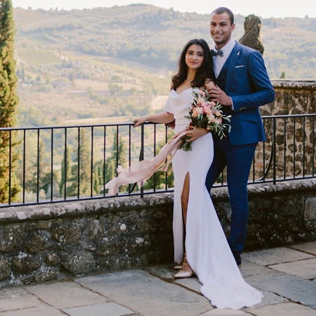 Reminiscing over last years Tuscan dream 💕 shot by _tupouphotography styled by _theweddingboutiquei