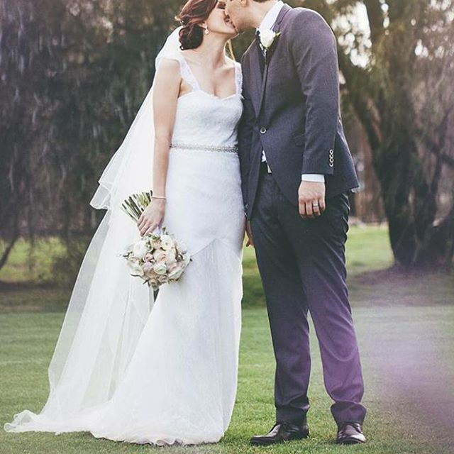 My beautiful Perth bride Laura who married her man Marley over the weekend.