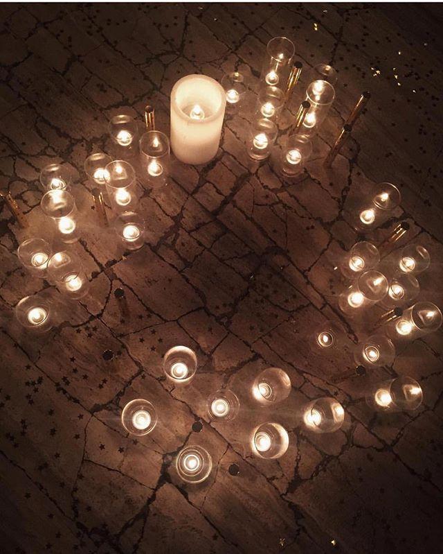 Candlelit nights via _harperandharley