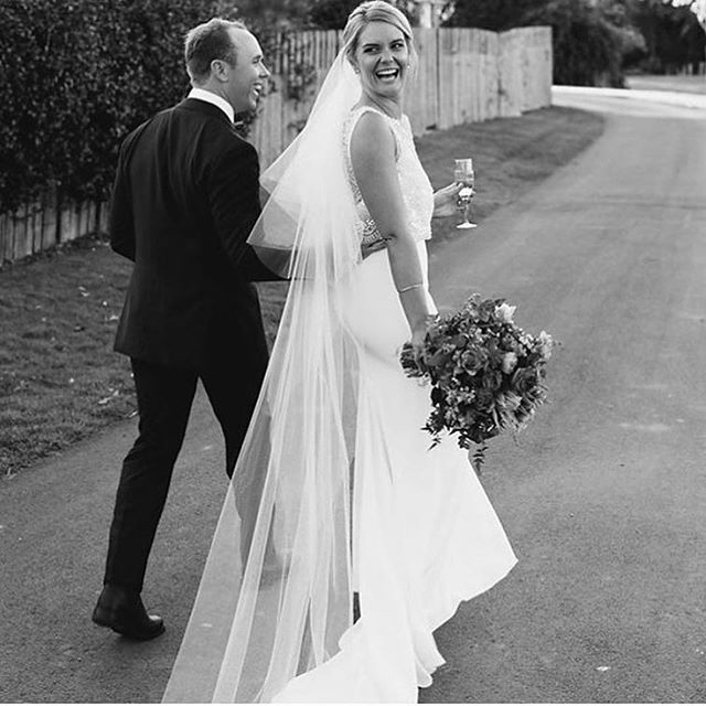 Gorgeous Sam, the definition of radiant bride ✨ in her Anja ✨✨ #Repost _hopexpage_・・・_Gorgeous Sam ✨
