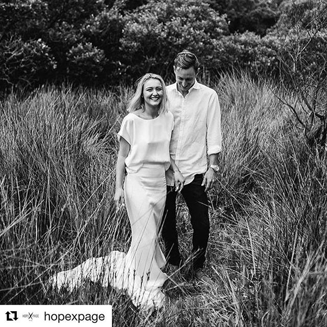 Luxe Silk Tee and Selena Skirt looking all #coolbride over there #Repost _hopexpage with _repostapp_