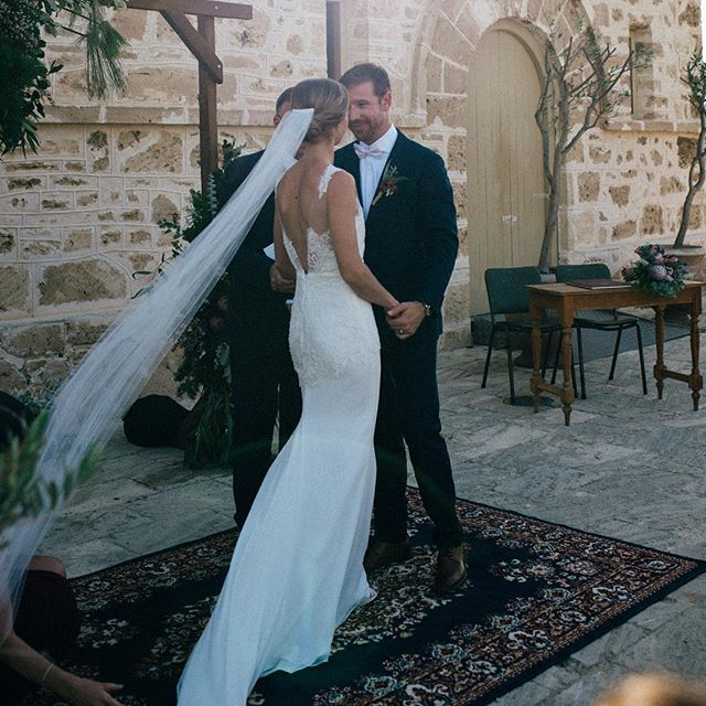 So incredibly proud to see this beautiful Marquise Bridal gown, on the equally beautiful bride Kate,