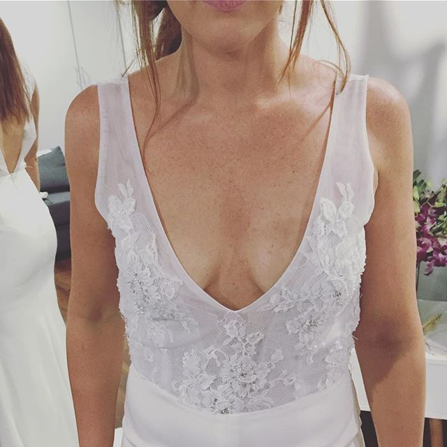Mid week fittings in our I L L U M I N A T I gown x x