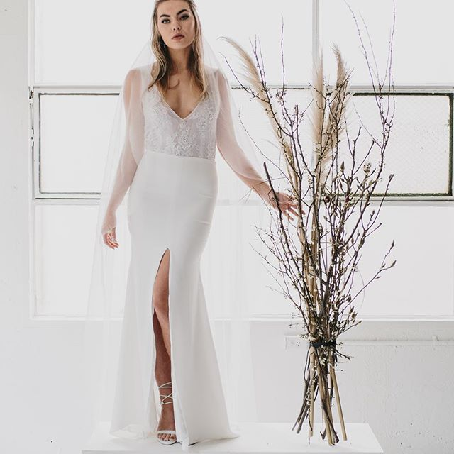 I L L U M I N A T I Gown _Available now at info_MarqusieBridal.com