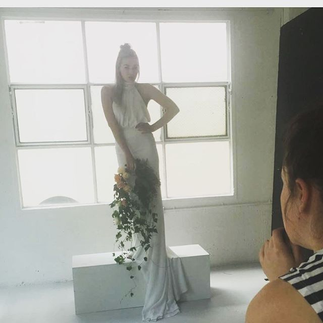 BTS __alibailey shoring the smoking hot _sheridanseekamp with some magic from _wanderlust_creative _