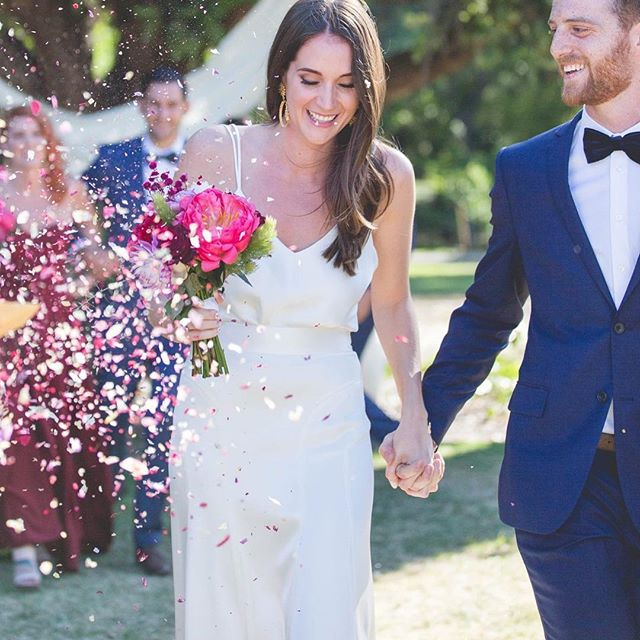 How FREAKIN H O T is my beautifully bride Claire who married in her Silk Camisole Bodysuit on the we