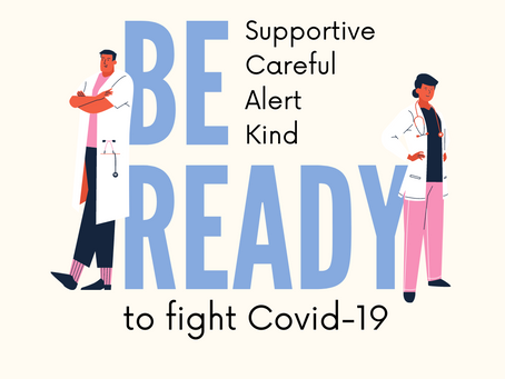 We're together in this Fight against COVID19.                          A Sample diet plan