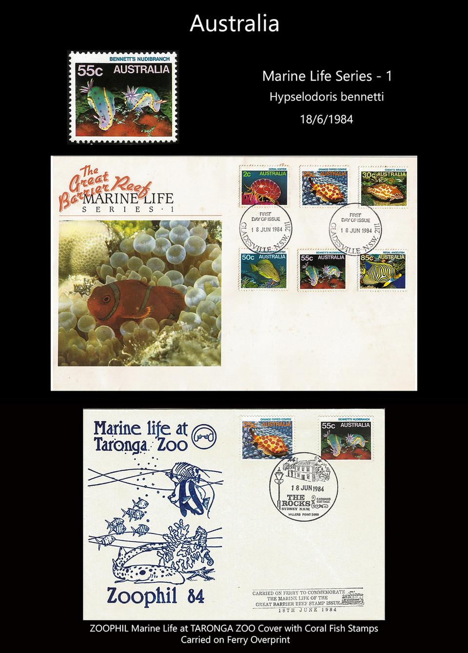 AUSTRALIA 1 Stamps & FDC