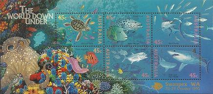 AUSTRALIA 1995 - Swanpex -Hypselodoris b