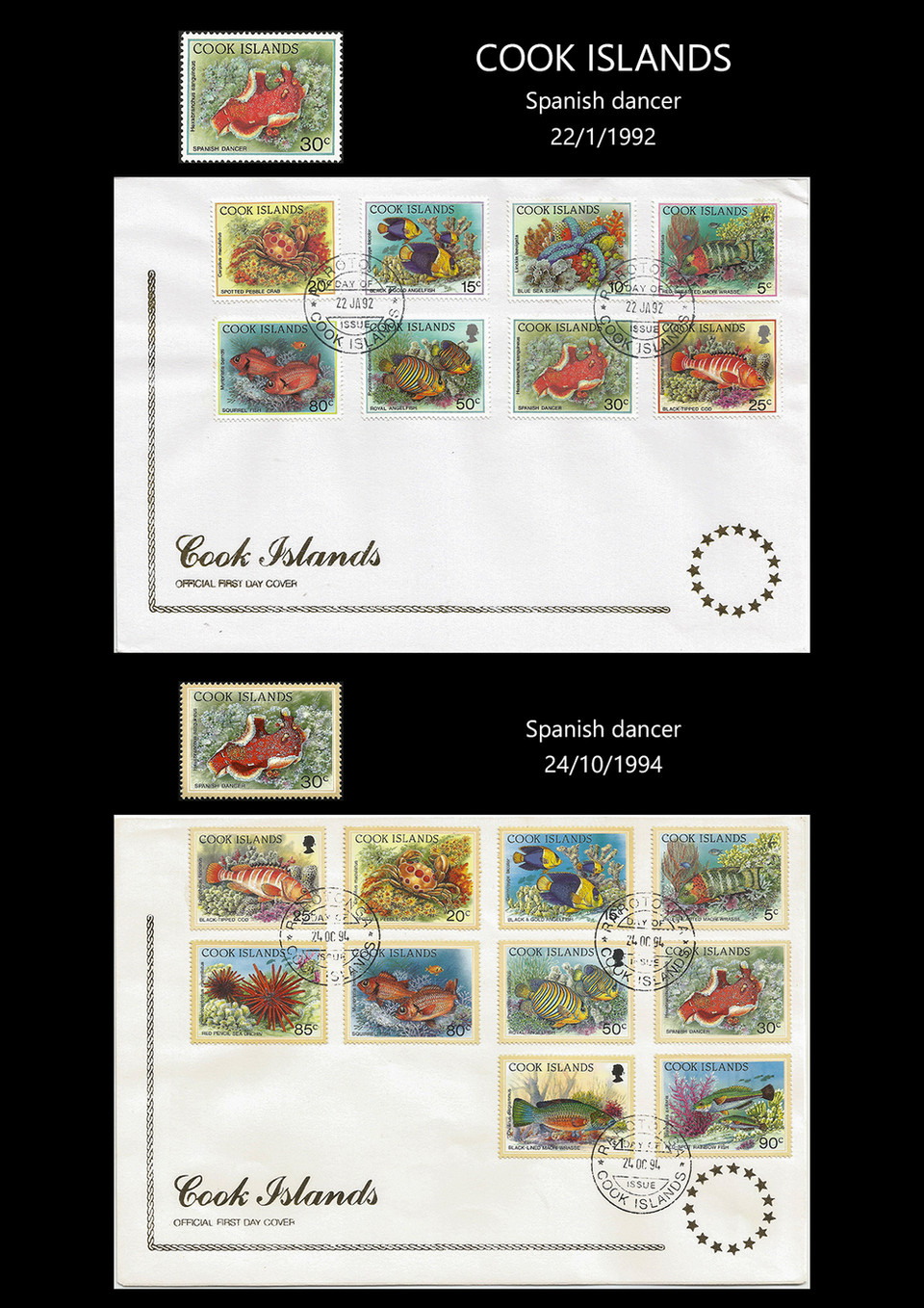 cook island 92-94 Stamps & FDC