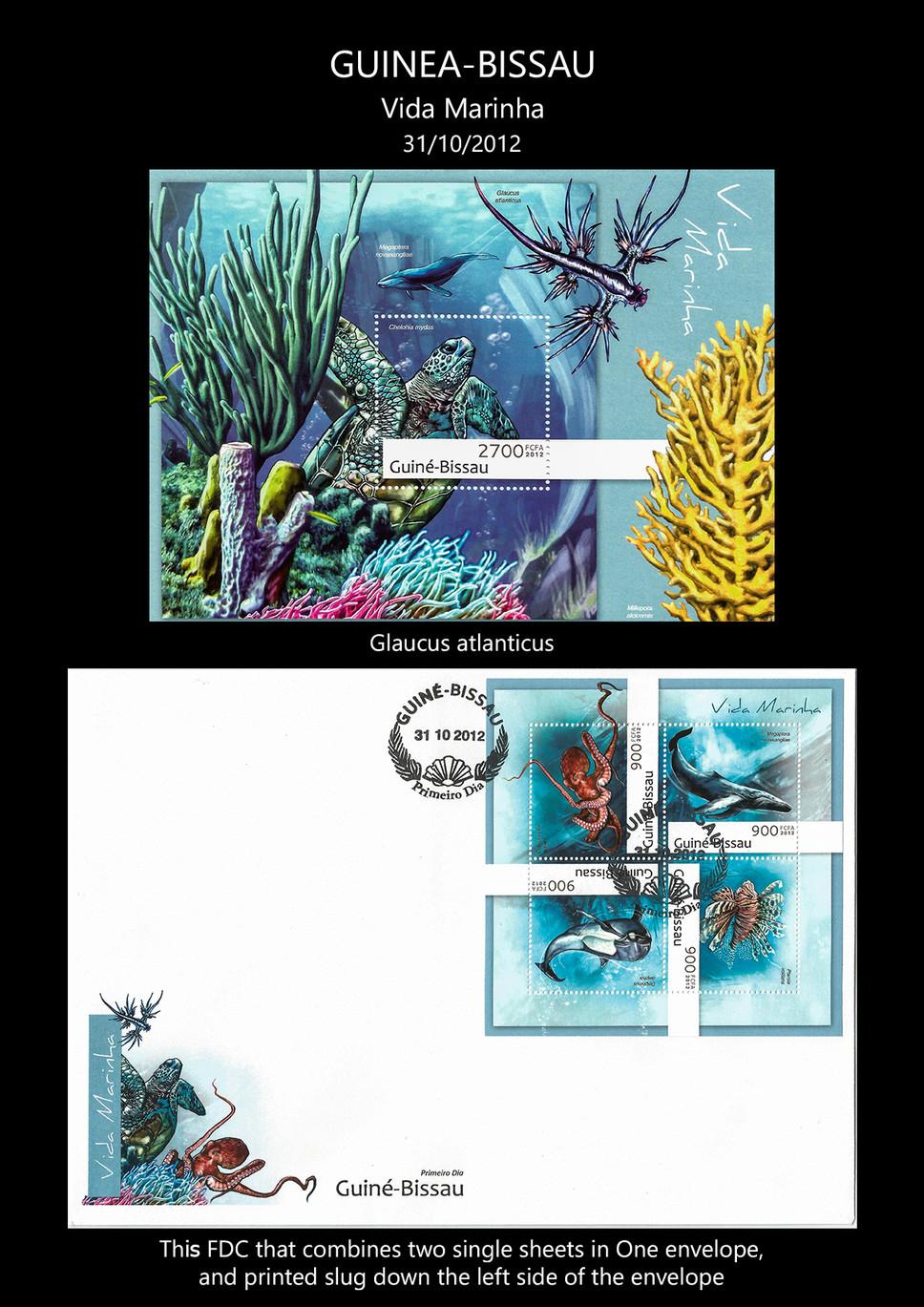 guine bissau 2012 Stamps & FDC