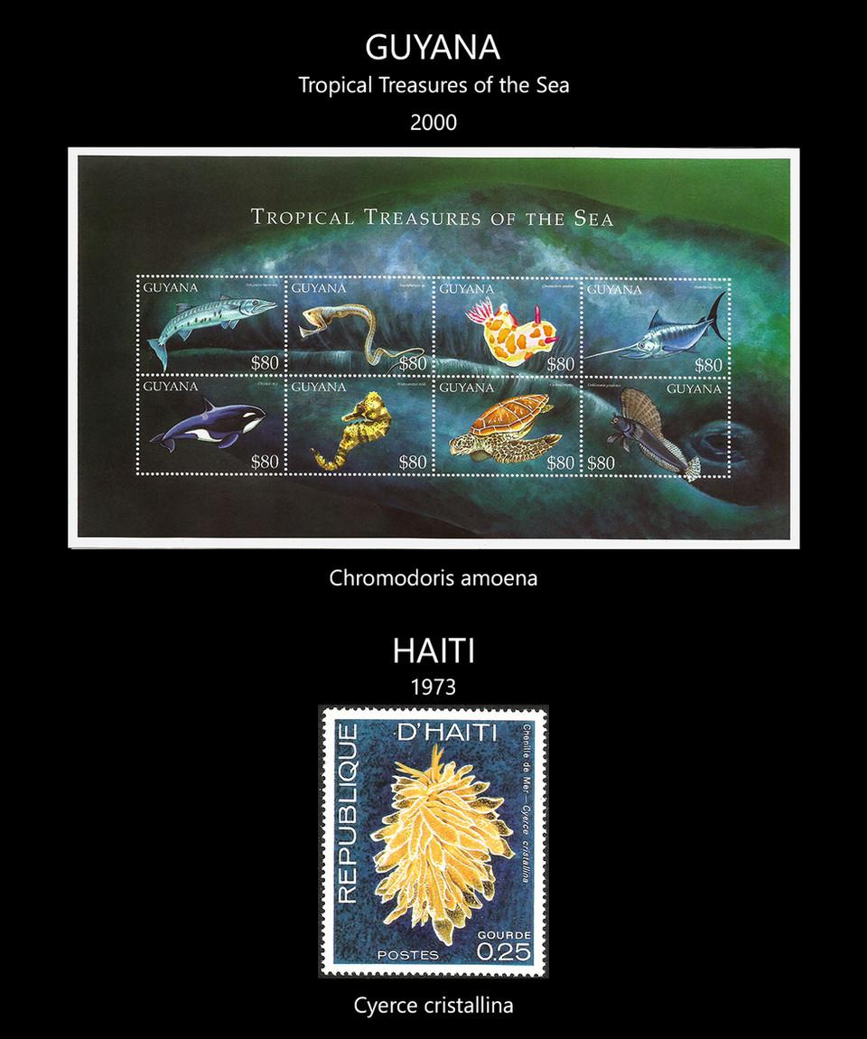 guyana + haiti Stamps & FDC