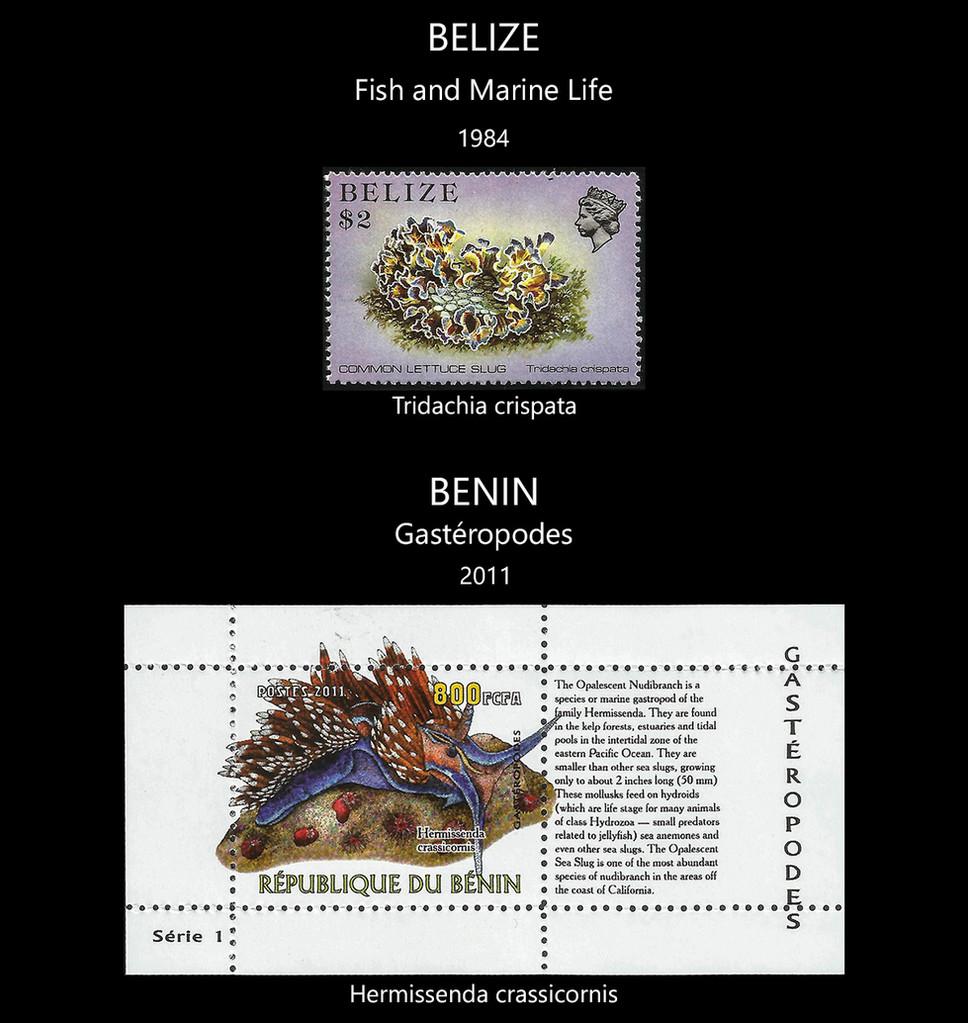 Belize  -  Benin Stamps & FDC