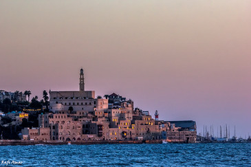 Jaffa Old City at sunset
