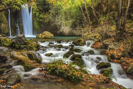 The Banias waterfall