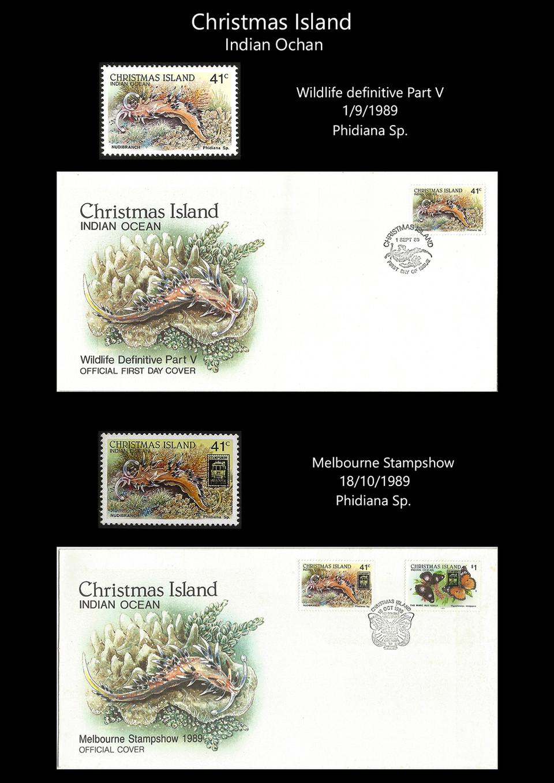 Christmas Island 1 Stamps & FDC