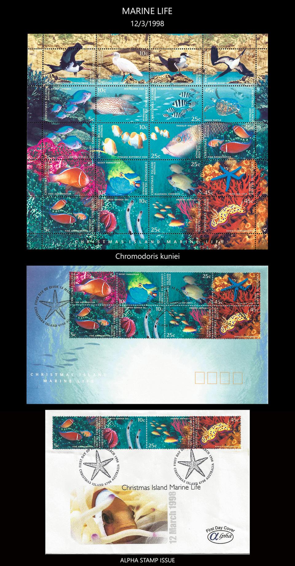 Christmas Island 2 Stamps & FDC