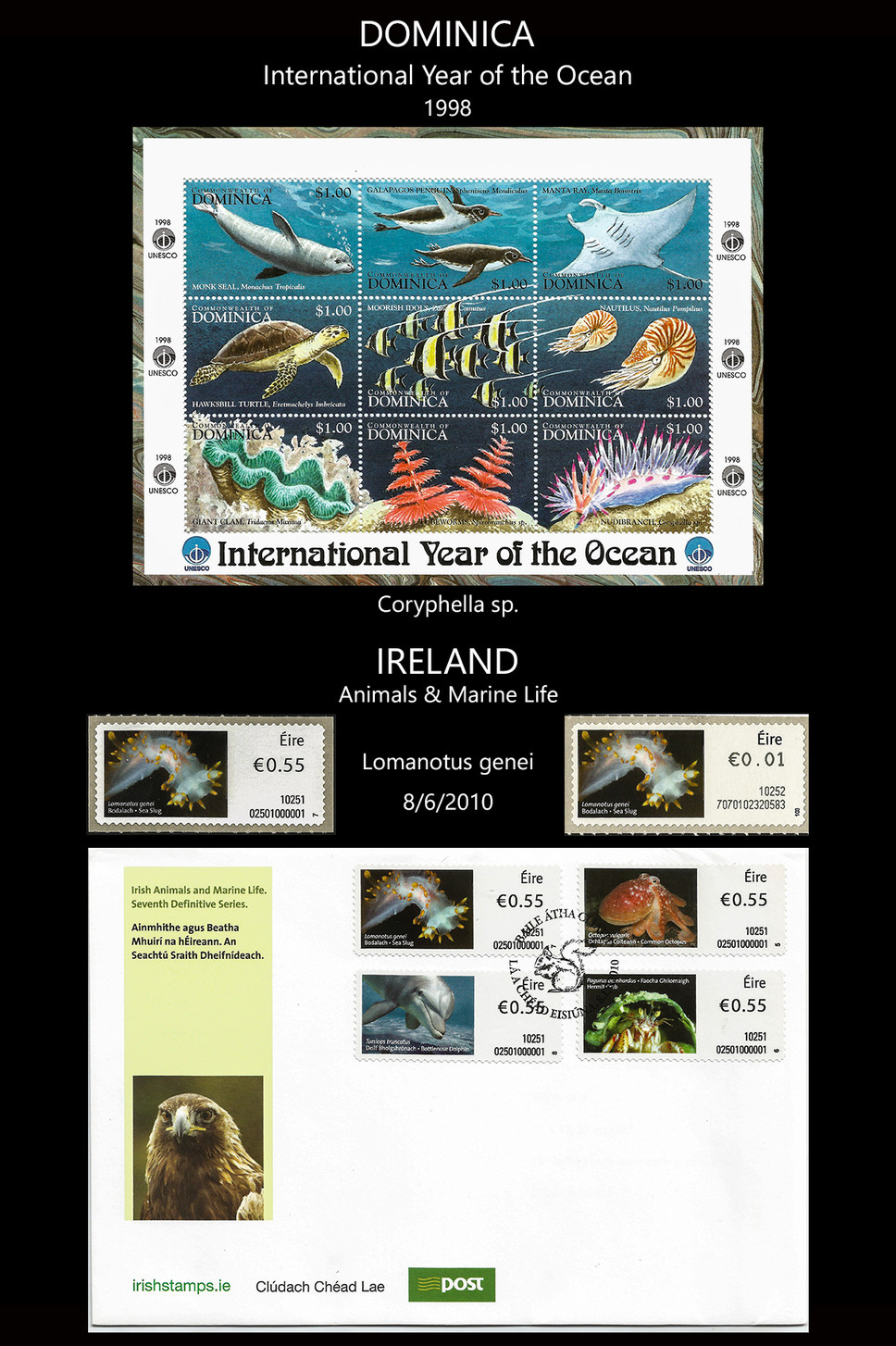 dominica - irland Stamps & FDC