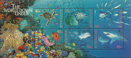 AUSTRALIA 1995 - Sydney Hypselodoris bul