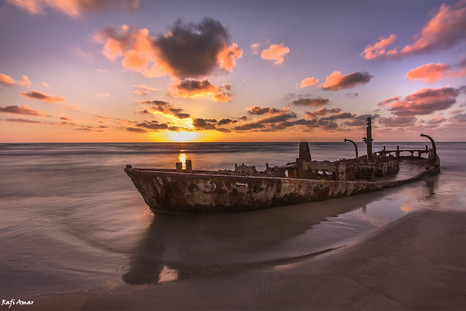 Shipwreck at Dor Beach