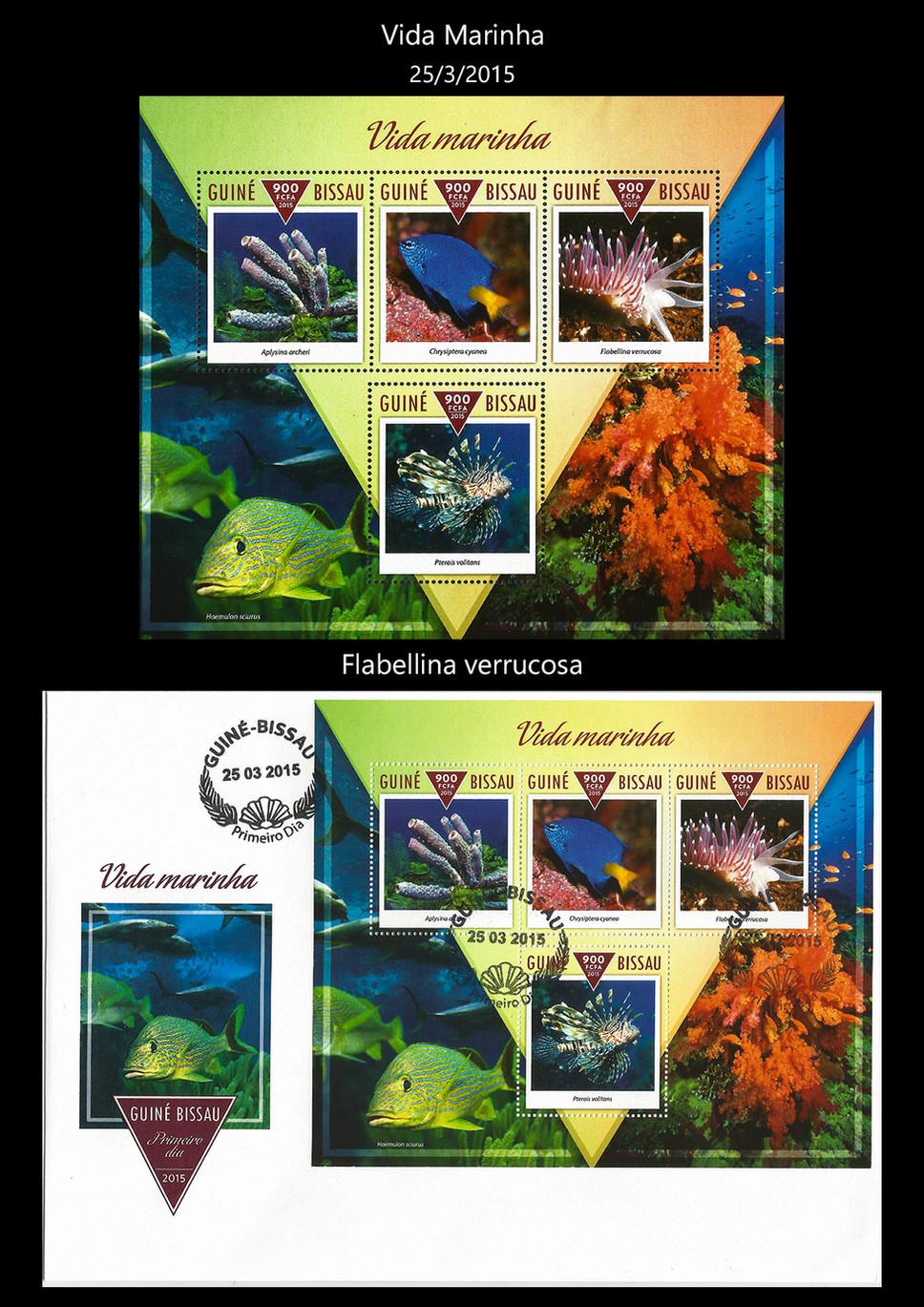 guine bissau 2015 Stamps & FDC