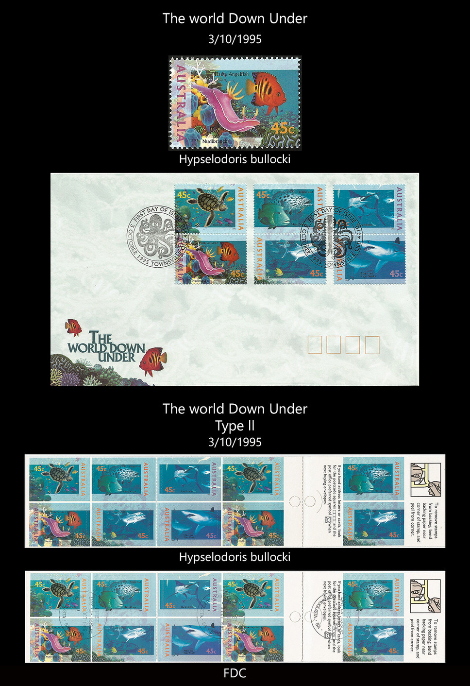 AUSTRALIA 2 Stamps & FDC