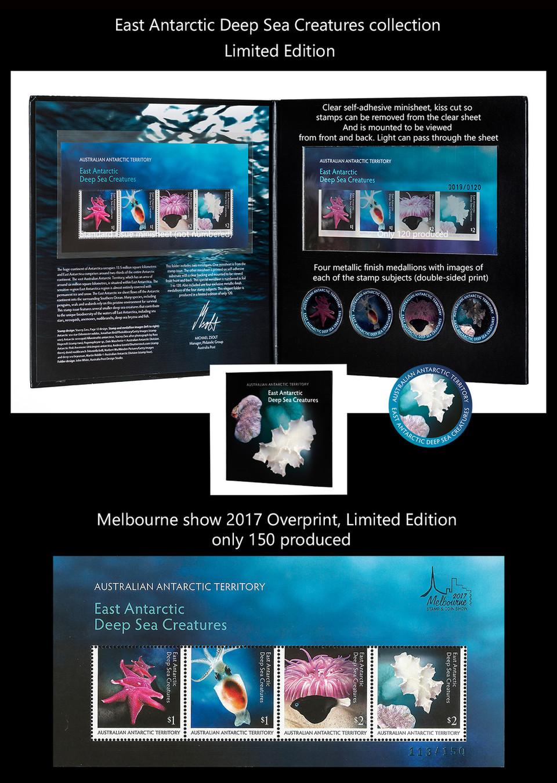 AUSTRALIA 7 Stamps & FDC