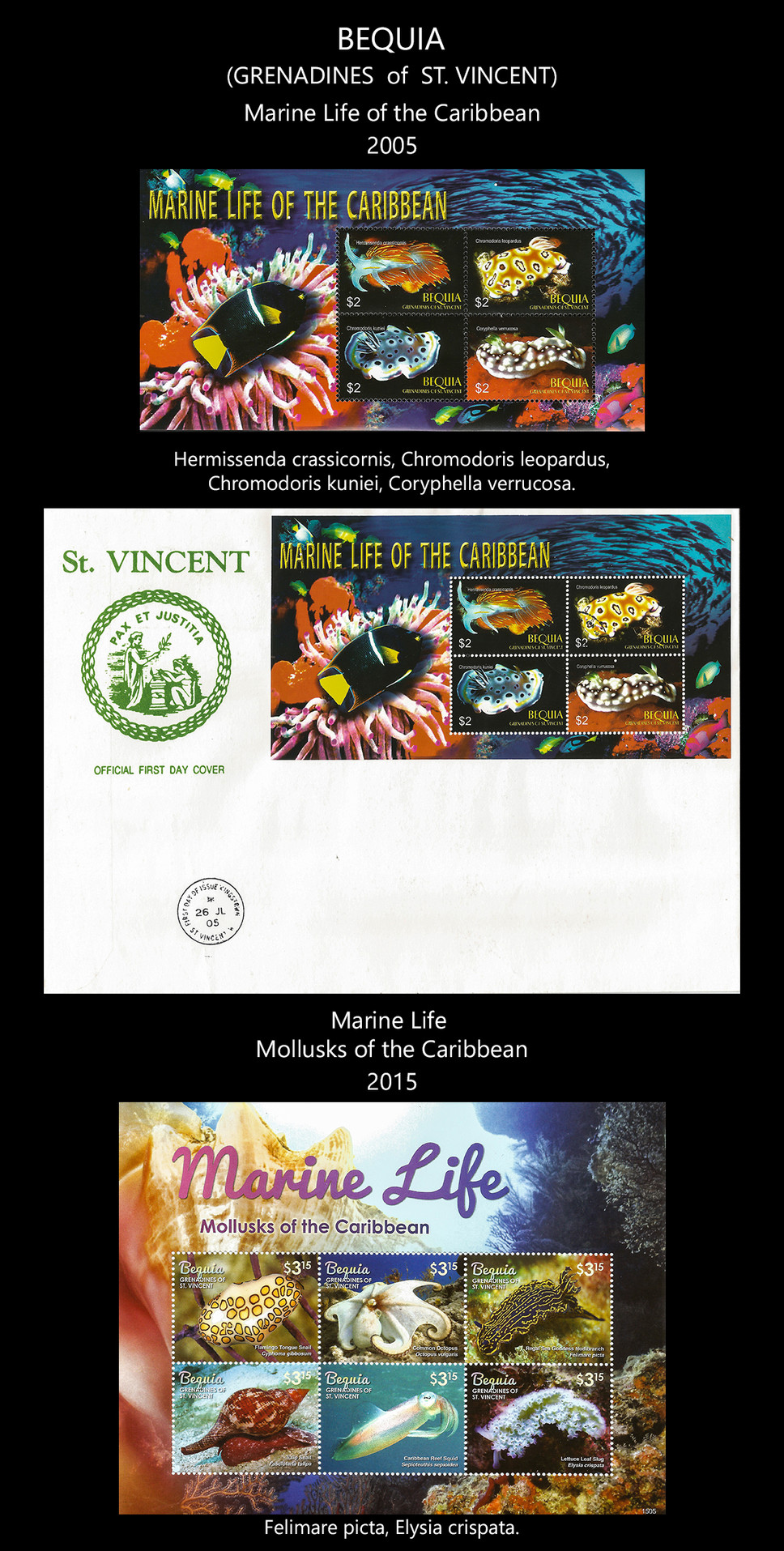 Bequia Stamps & FDC