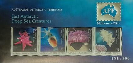 Australia AAT Deep Sea Creatures MS APF