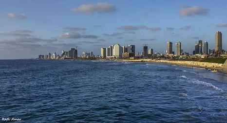 The beaches of Tel Aviv...